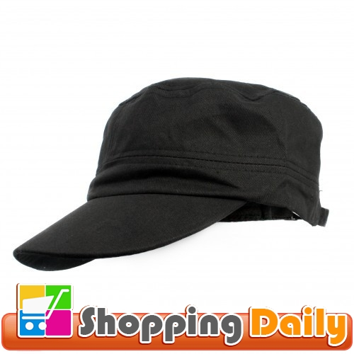 New-Army-Trucker-Cap-Hat-Black-Colour